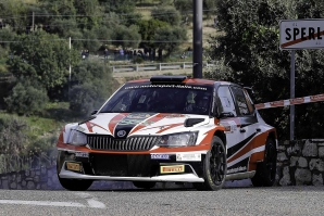 Max Rendina Rally di Sperlonga 2019